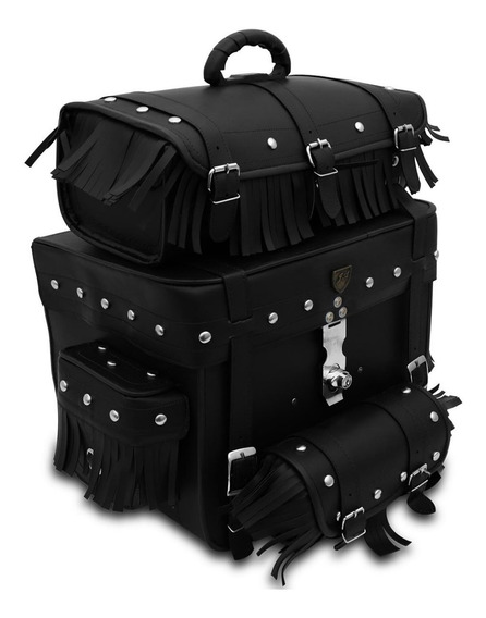 Alforge Sissy Bag Bolsa Traseira Custom Para Capacetes 62l