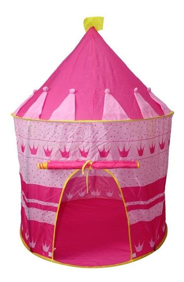 Barraca Toca Tenda Castelo Infantil Princesas Dobrável