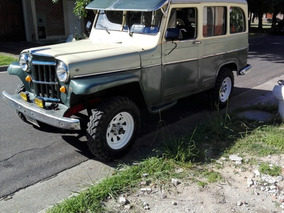 Ika Estanciera Willys Overland Station Wagon