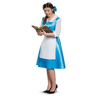 Disfraz De Belle Blue Dress Adulto Para Mujer Grande 1214