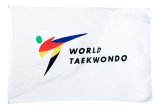 Korea Sport Taekwondo Bandera Wt (nuevo Logo)