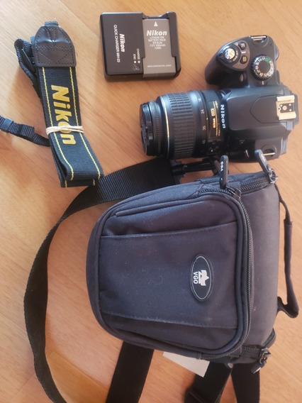 Nikon D40 Con 18-55. Con 1500 Disparos