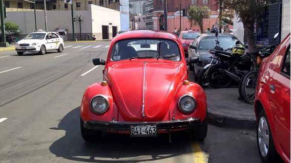 Vw Escarabajo Ahorrador