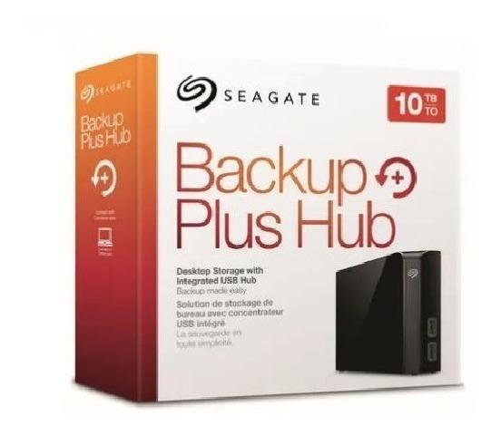 Hd Externo 10tb Backup Plus Hub Grande Usb Seagate C/ Nf