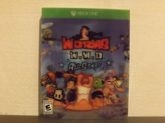 Xbox One Worms Wmd All Stars - Original - Aceito Trocas...