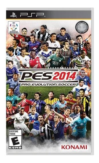 Jogo Futebol Pro Evolution Soccer 2014 Pes Psp Sony Portatil