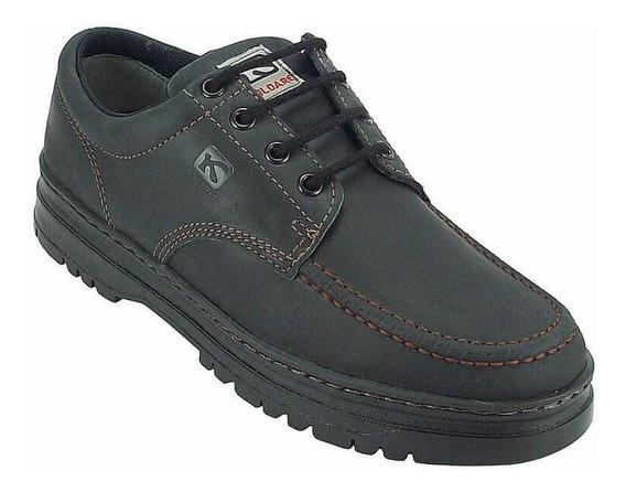 Sapato Masculino Kildare Couro Timber G521 Classico Preto
