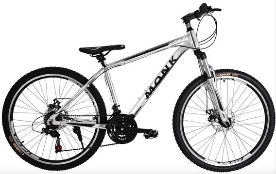 Bicicleta Fast Line Monk Alum Susp/d Frens/disc R-26 21 Vel