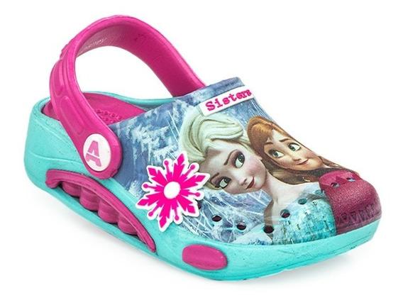 Sandalias Crocs Addnice Disney Frozen Summer Sisters Aqua
