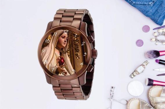 Relógio De Pulso Personalizado Religião Imagem - Cod.1104