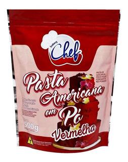 Pasta Americana Em Pó Vermelha 500g Iceberg