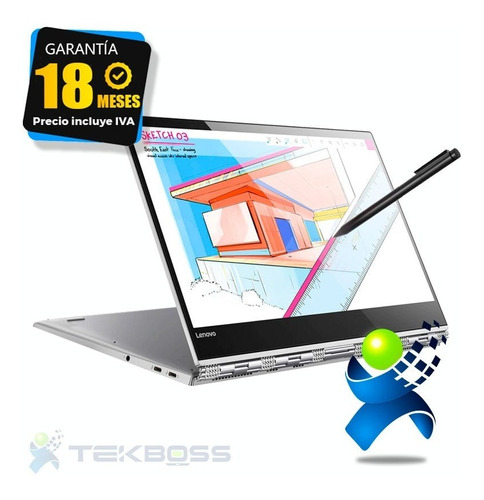 Laptop Lenovo Yoga Core I7+1tb Ssd+ Touch 14 + Huella + Ilum