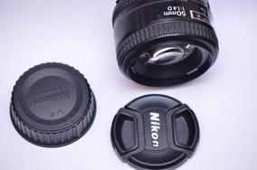 Lente 50mm D 1.4f - Promoção