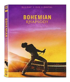 Bohemian Rhapsody Blu-ray + Dvd Original Nuevo Importado