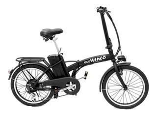 Bicicleta Eléctrica Plegable Winco Fashion Bateria Rodado 20