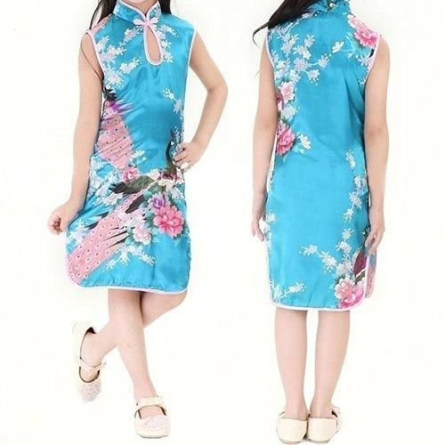 Vestido Kimono Oriental Infantil Importado!
