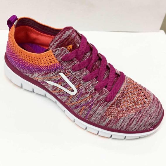 Zapatillas Dunlop Mujer Training Gym Rainbow Súper Livianas