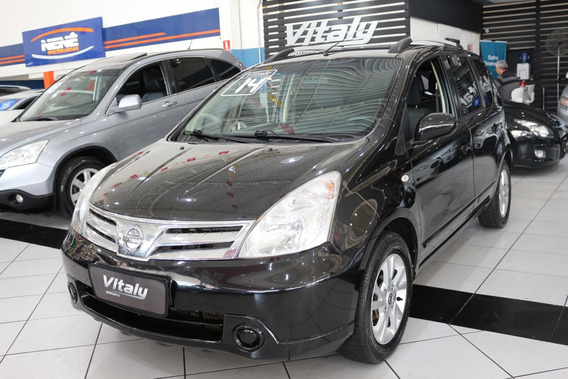Nissan Livina S 1.8 Flex!!!!!! Linda!!!