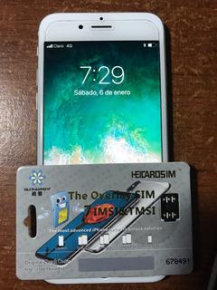 Turbo Sim Para iPhone 6+ 6p Y 7 Ios 11.2 Atyt, Softbank,