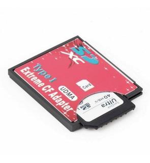 Adaptador Cartão De Memória Compactflash Cf X Sd - Tipo 1