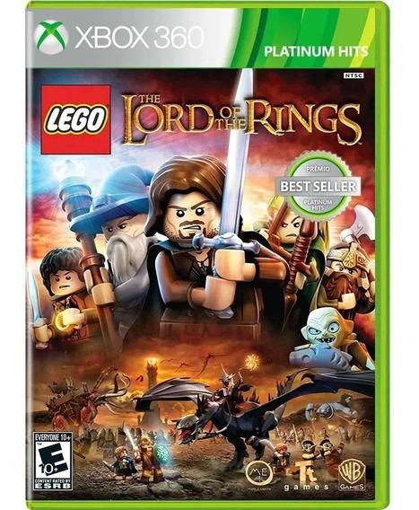 Jogo Lego O Senhor Dos Aneis Xbox 360 Lacrado Original Novo