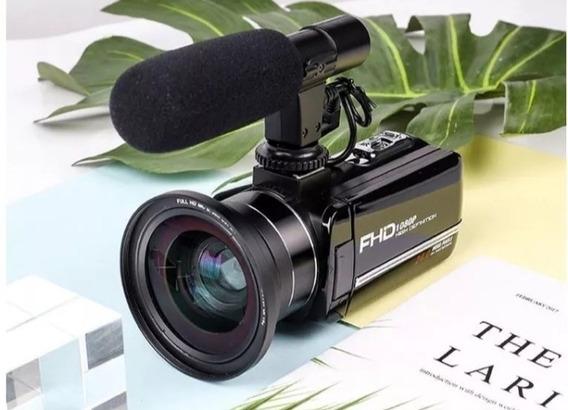 Câmera Filmadora Ideal Para Youtuber E Eventos, Super Barata