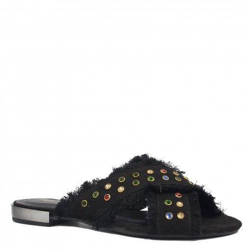 Rasteirinha Zariff Shoes Casual Em Suede45057