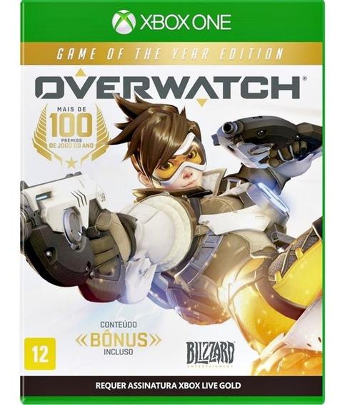 Jogo Overwatch Xbox One Midia Fisica Game Lacrado Português