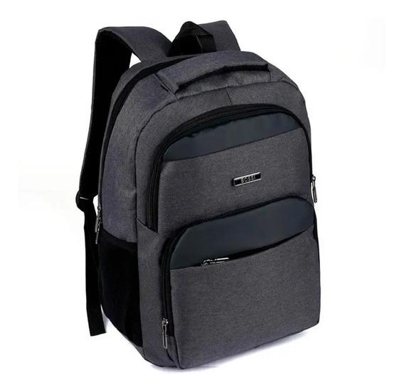 Mochila Urbana Bossi Porta Notebook Laptop 15,6 Resistente *