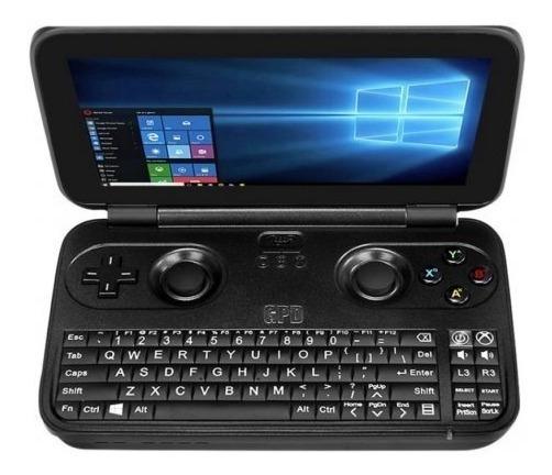 Console Portátil Gpd Win 10 64gb Gamepad Tela 5.5 Touch