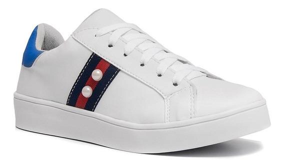 Tênis Sapatênis Feminino Sapato Casual Conforto