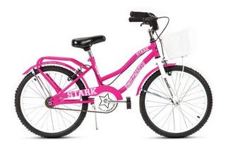 Bicicleta Smile Maker (stark) Rod 20. Color Rosa