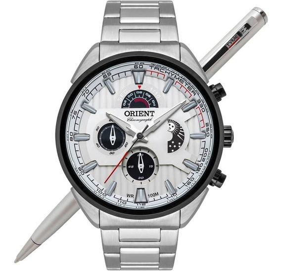 Relógio Orient Neo Sports Cronógrafo Mbssc202 S1sx - C/ Nfe