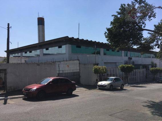 Galpão Para Alugar, 4587 M² Por R$ 90.000/mês - Vila Nova York - São Paulo/sp - Ga0378