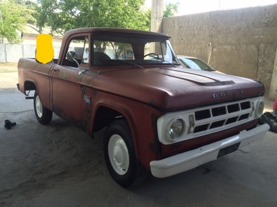 Dodge Camionete D100 1972 Placa Preta Raríssima