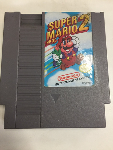 super mario bros 2 nes cartridge