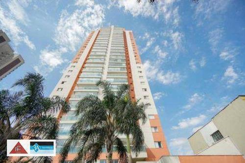 Imagem 1 de 15 de Apartamento Com 3 Suítes - Tatuapé - São Paulo/sp - Ap6600