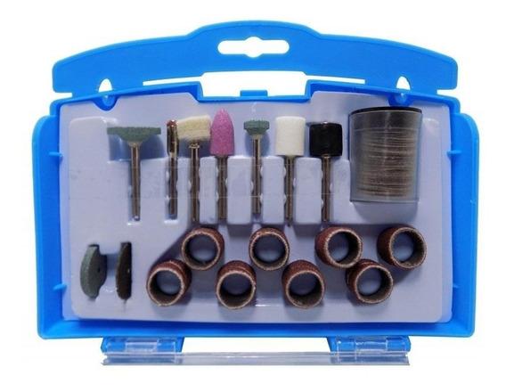 Kit Acessórios Para Micro Retífica C/ 69 Peças G19504 Gamma