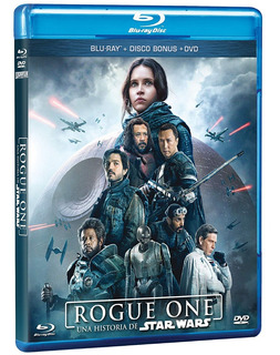 Rogue One Una Historia De Star Wars Combo Bluray + Dvd