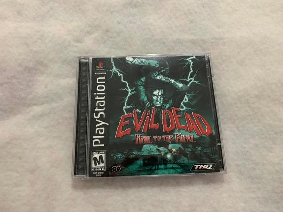 Evil Dead Hail To The King Ps1 Original Completo Americano