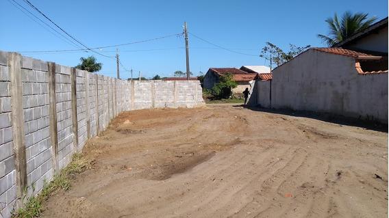 Terreno Aterrado E Com Muro Lado Praia - Itanhaém Litoral Sp