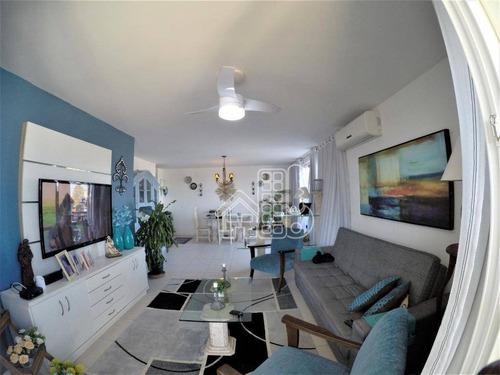 Cobertura Com 3 Dormitórios À Venda, 241 M² Por R$ 1.700.000,00 - Piratininga - Niterói/rj - Co0392