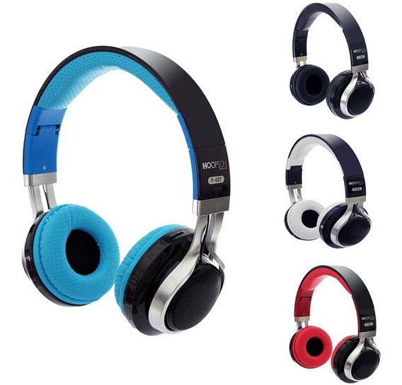Headphone Bluetooth Estéreo Led Rgb Rádio Fm Sd Mp3 F-037