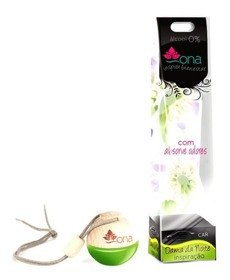 Aromatizante Ona Dama Da Noite 6ml - Perfume P/carro O + Top
