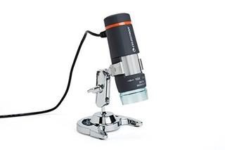 Microscopio Celestron 44302 Deluxe Digital Portátil De Mano