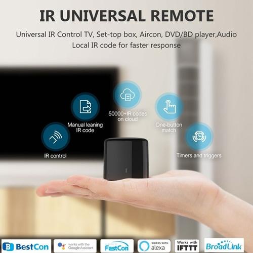 Rm4c Mini Controlador Universal Broadlink Alexa Y Nest Mini