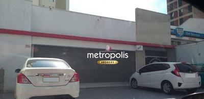 Salão Para Alugar, 500 M² Por R$ 18.000/mês - Santa Paula - São Caetano Do Sul/sp - Sl0092