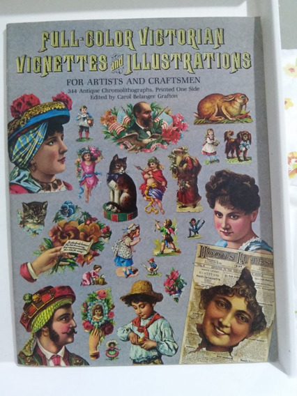 Full-color Victorian Vignettes And Illustrations