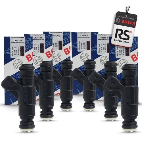 6 Bicos Injetor Bosch 65 Lbs/h 0280156453