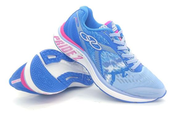 Tênis Olympikus Pride 2 - Feminino - Azul/pink